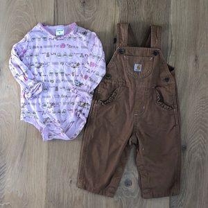 Baby Girl Carhartt Set